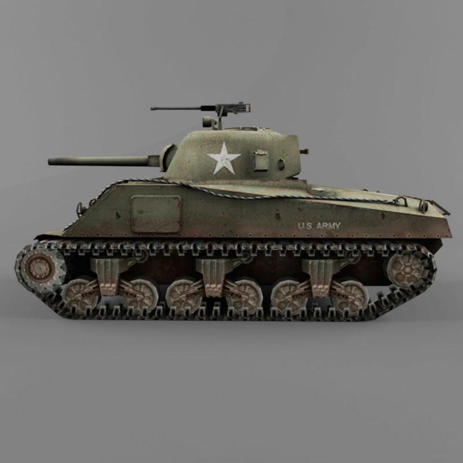 M4A2 royalty-free 3d model - Preview no. 2