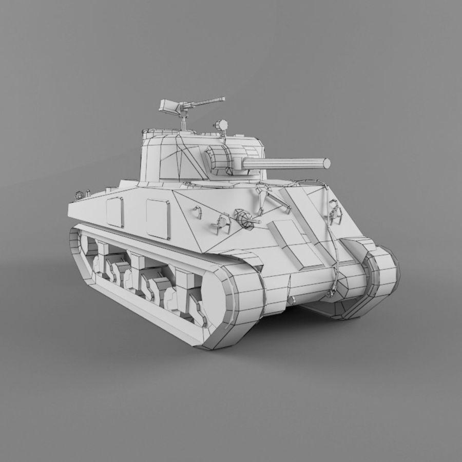 M4A2 royalty-free 3d model - Preview no. 10