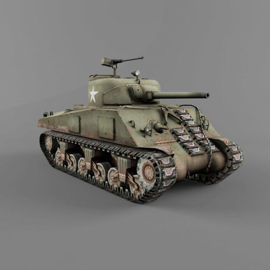 M4A2 royalty-free 3d model - Preview no. 7