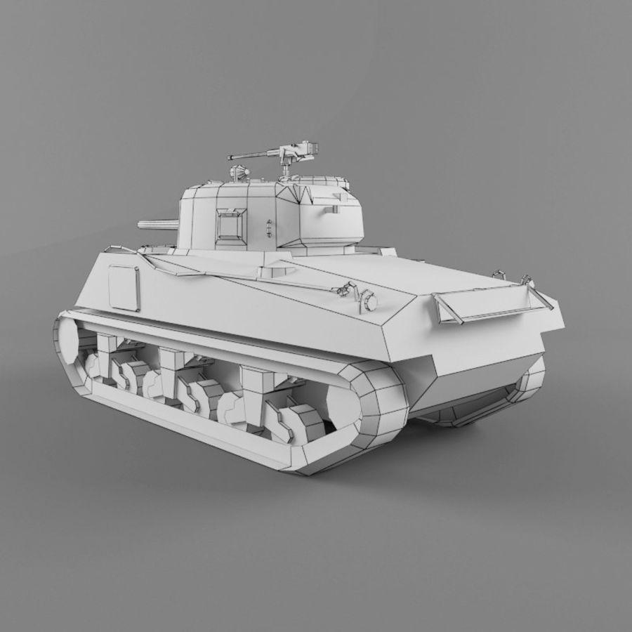 M4A2 royalty-free 3d model - Preview no. 11