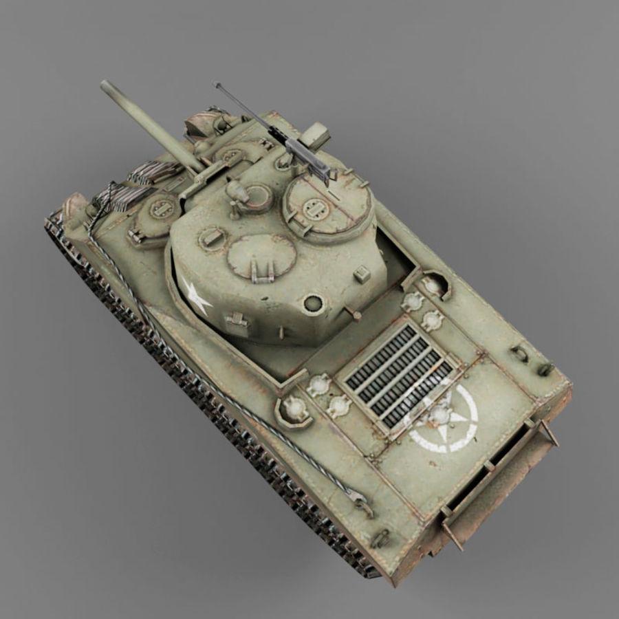 M4A2 royalty-free 3d model - Preview no. 9