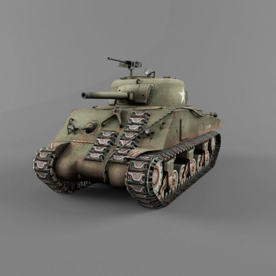 M4A2 royalty-free 3d model - Preview no. 1