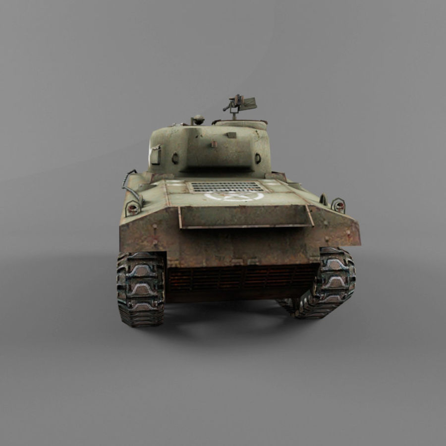 M4A2 royalty-free 3d model - Preview no. 4