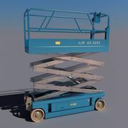 Elevador de tijera V2 modelo 3d