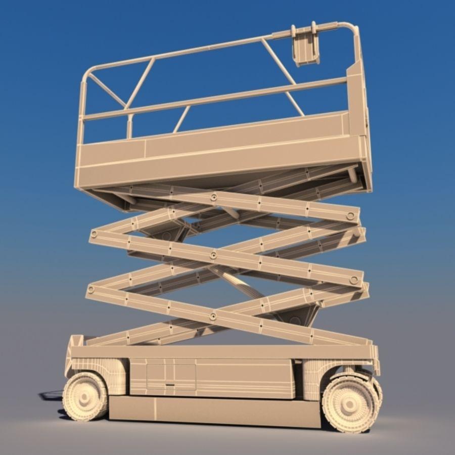 Schaarhoogwerker V2 royalty-free 3d model - Preview no. 4
