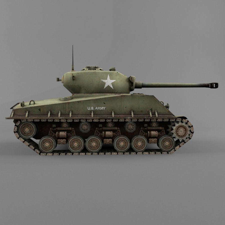 M4A2 76 royalty-free 3d model - Preview no. 6