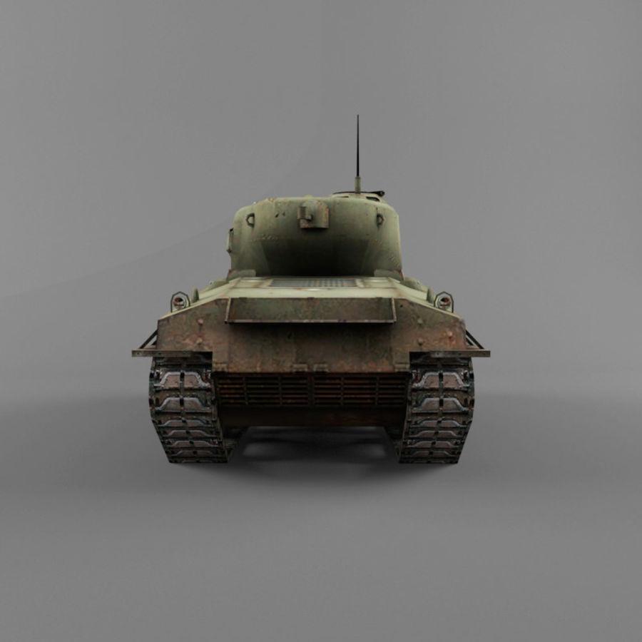 M4A2 76 royalty-free 3d model - Preview no. 4