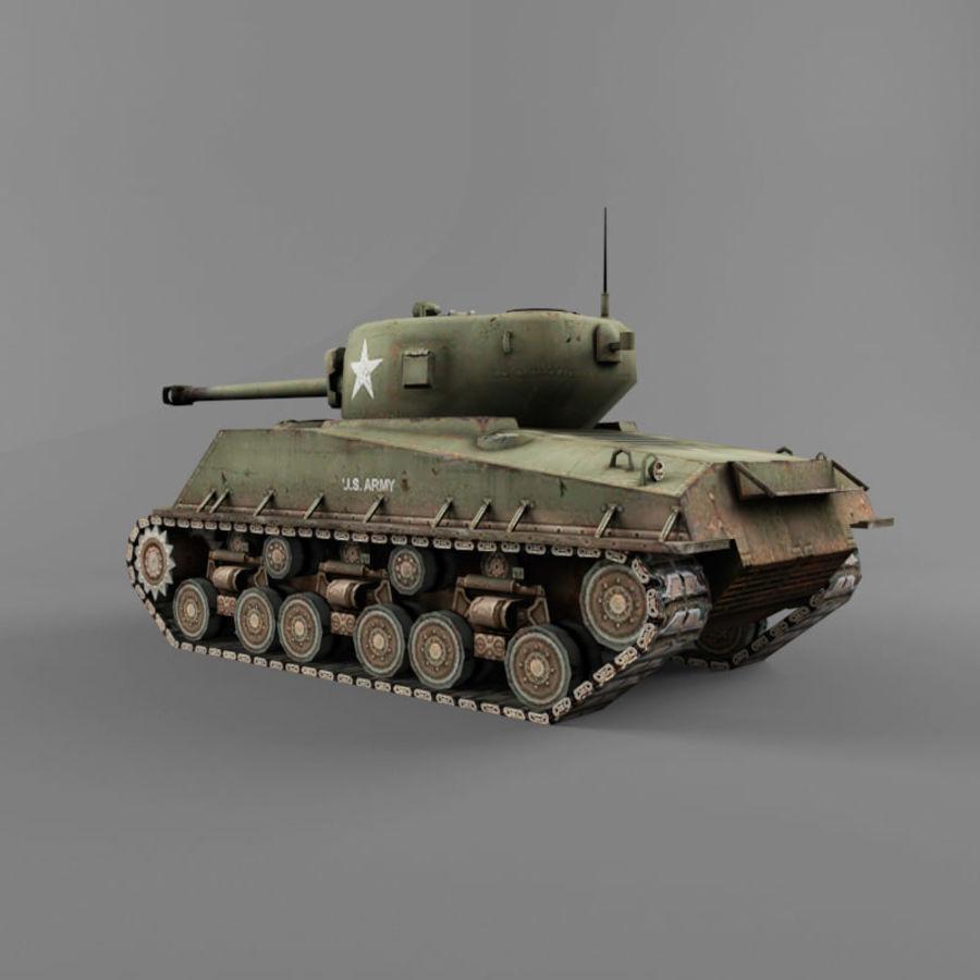 M4A2 76 royalty-free 3d model - Preview no. 3