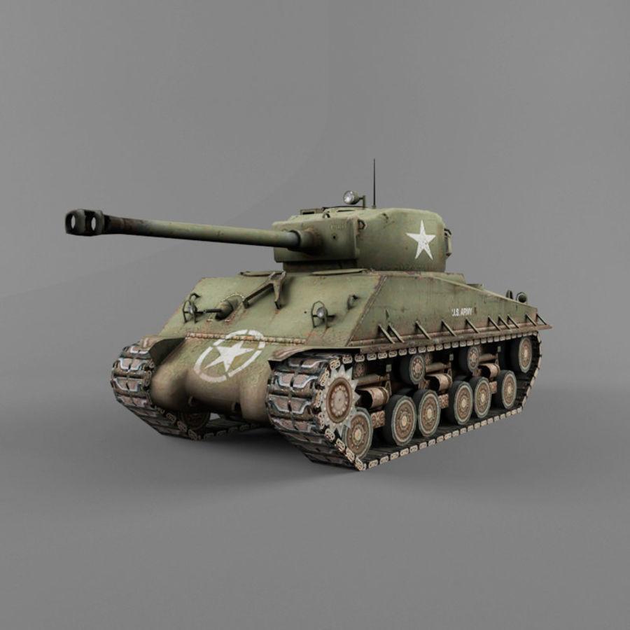 M4A2 76 royalty-free 3d model - Preview no. 1