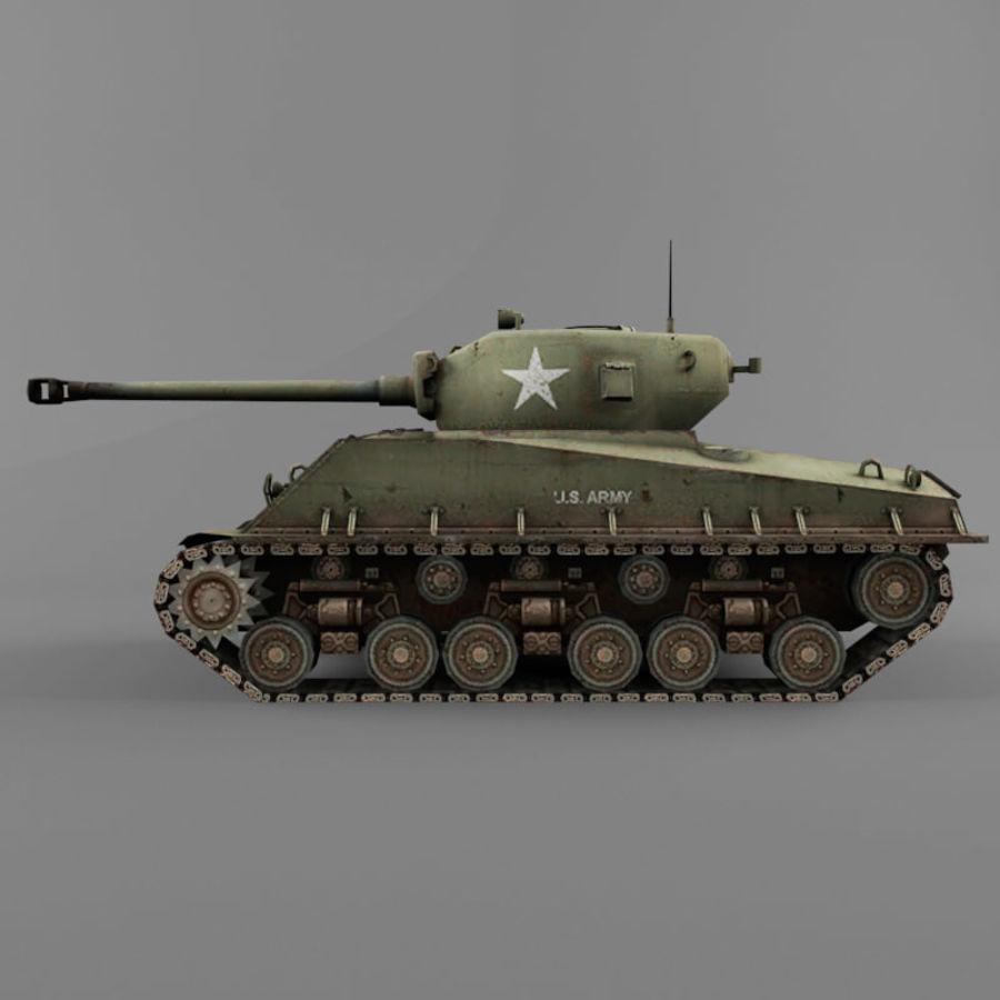 M4A2 76 royalty-free 3d model - Preview no. 2