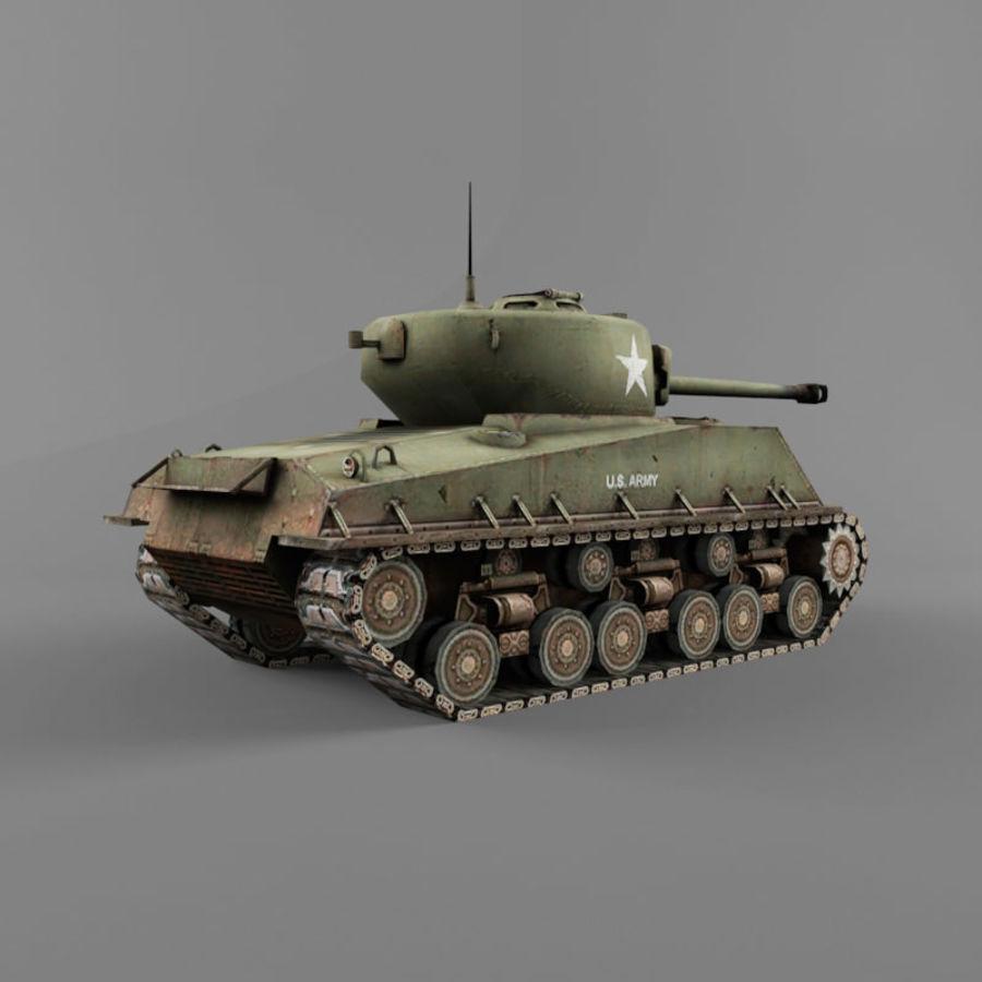 M4A2 76 royalty-free 3d model - Preview no. 5