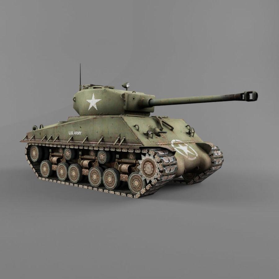 M4A2 76 royalty-free 3d model - Preview no. 7