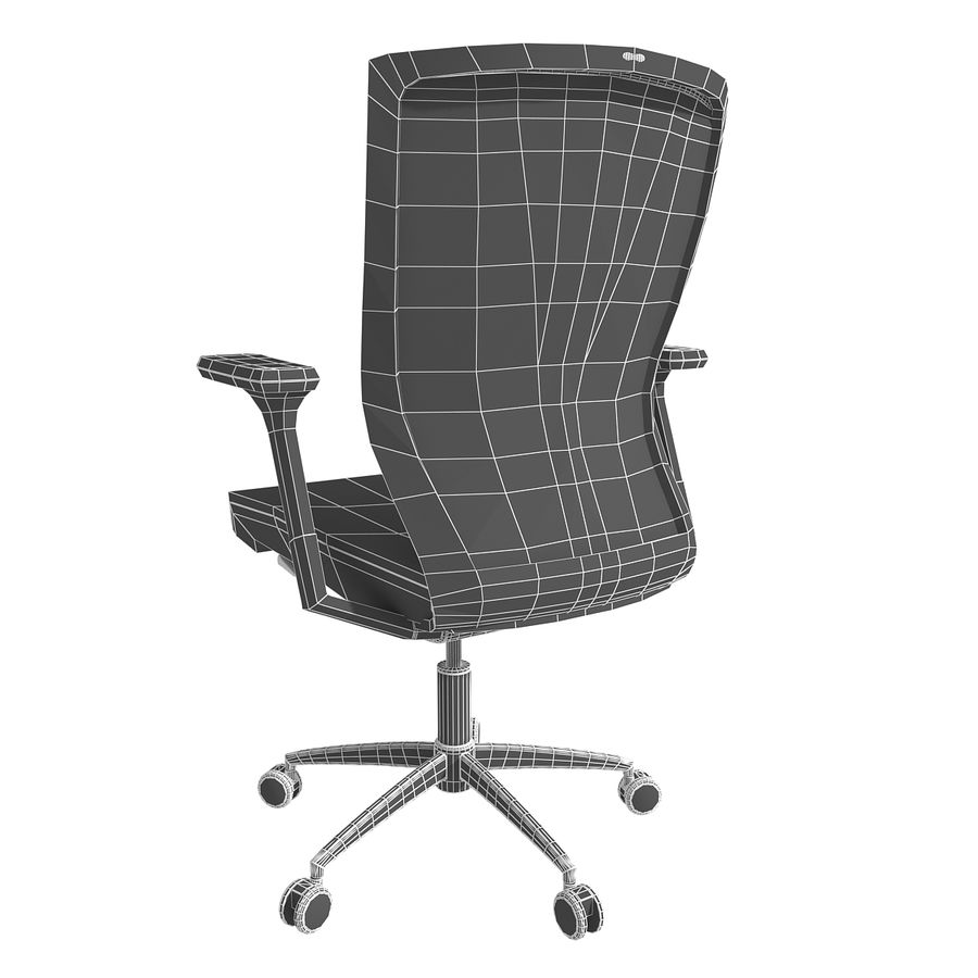 Chair Office royalty-free 3d model - Preview no. 14
