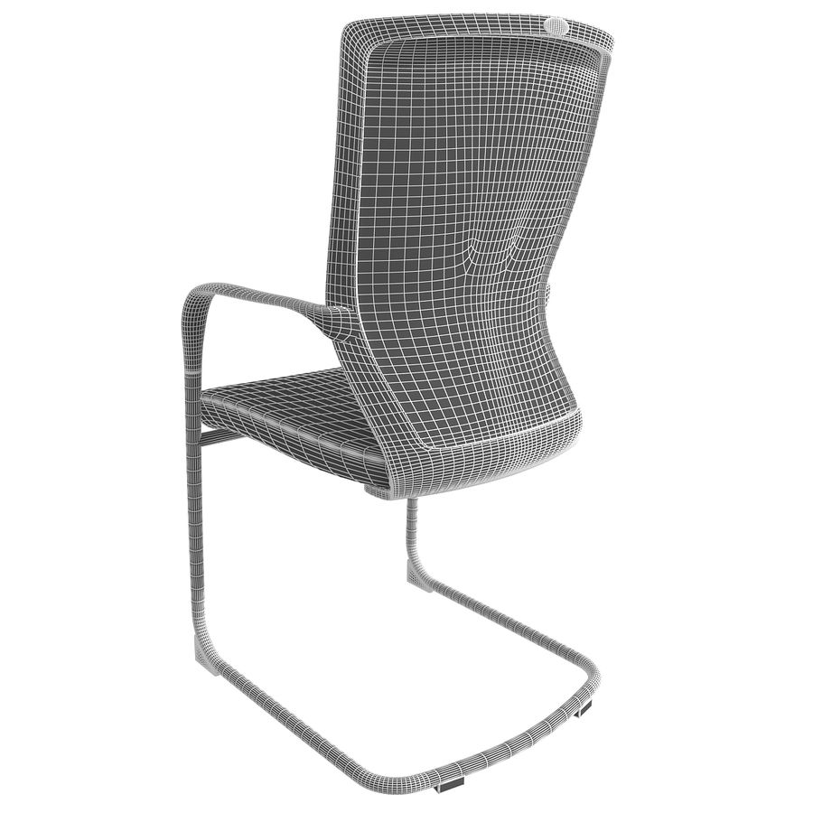 Chair Office royalty-free 3d model - Preview no. 8