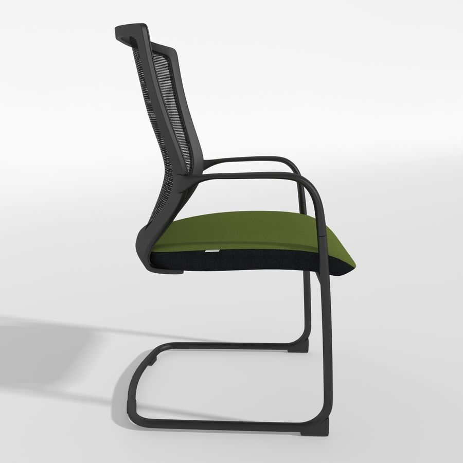 Chair Office royalty-free 3d model - Preview no. 5