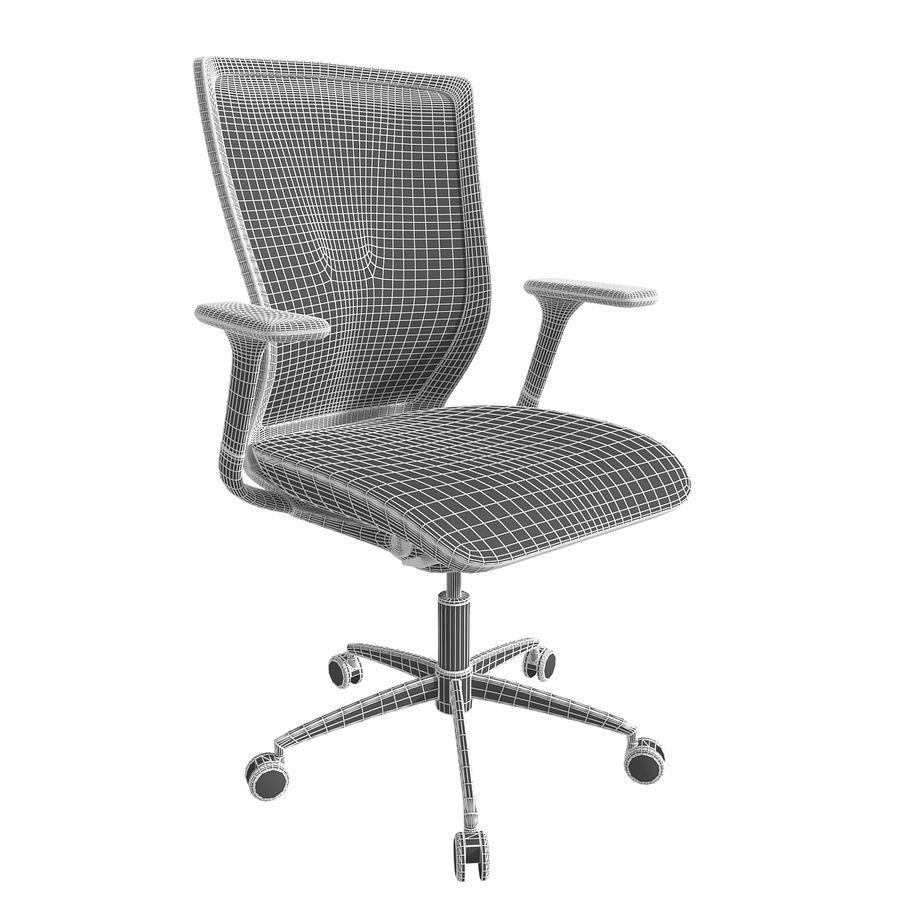 Chair Office royalty-free 3d model - Preview no. 10