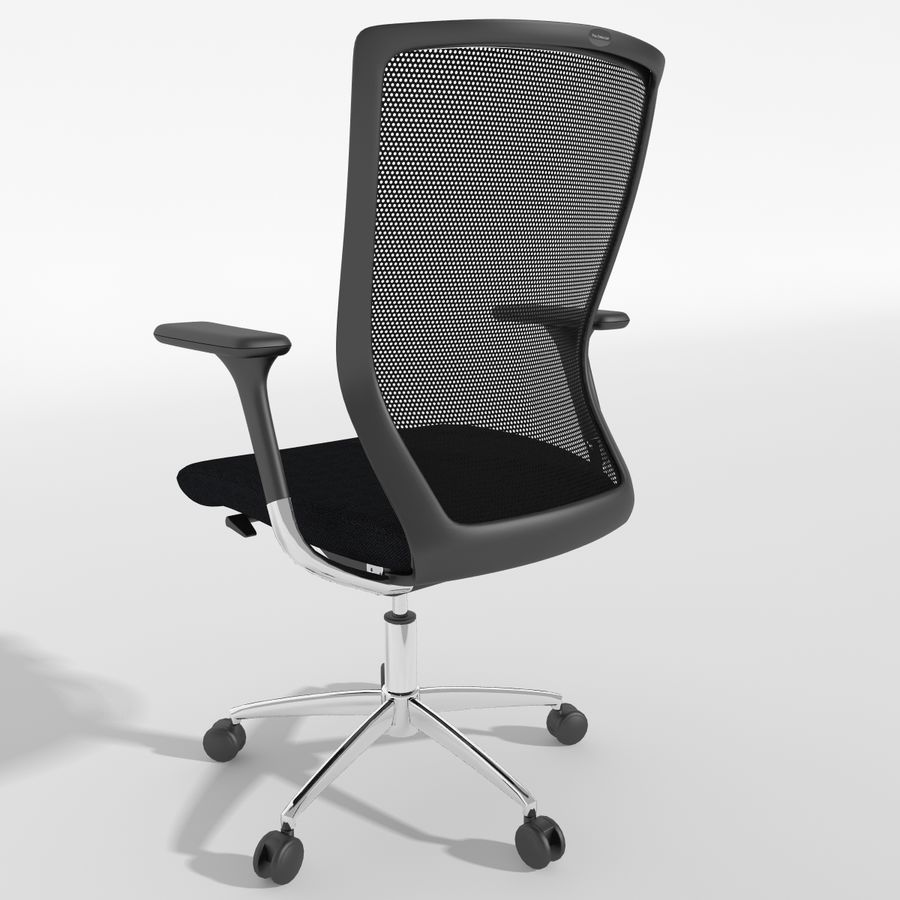 Chair Office royalty-free 3d model - Preview no. 13