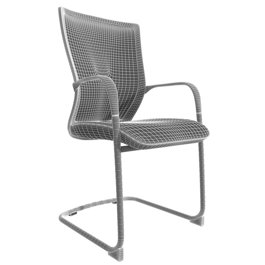 Chair Office royalty-free 3d model - Preview no. 3