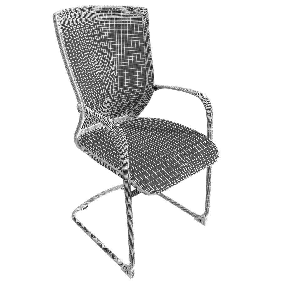 Chair Office royalty-free 3d model - Preview no. 6