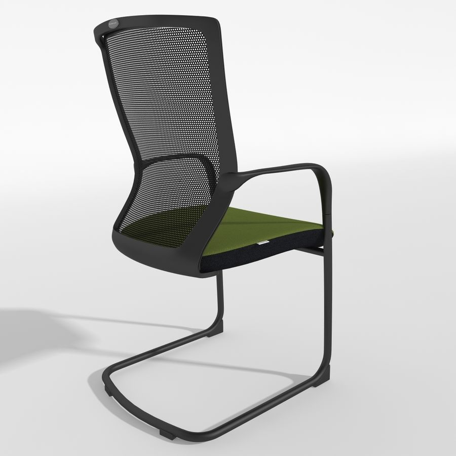 Chair Office royalty-free 3d model - Preview no. 7