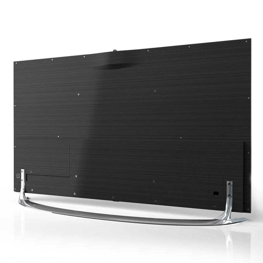 Samsung 46 inch F8000 LED SMART FULL HD TV royalty-free 3d model - Preview no. 2