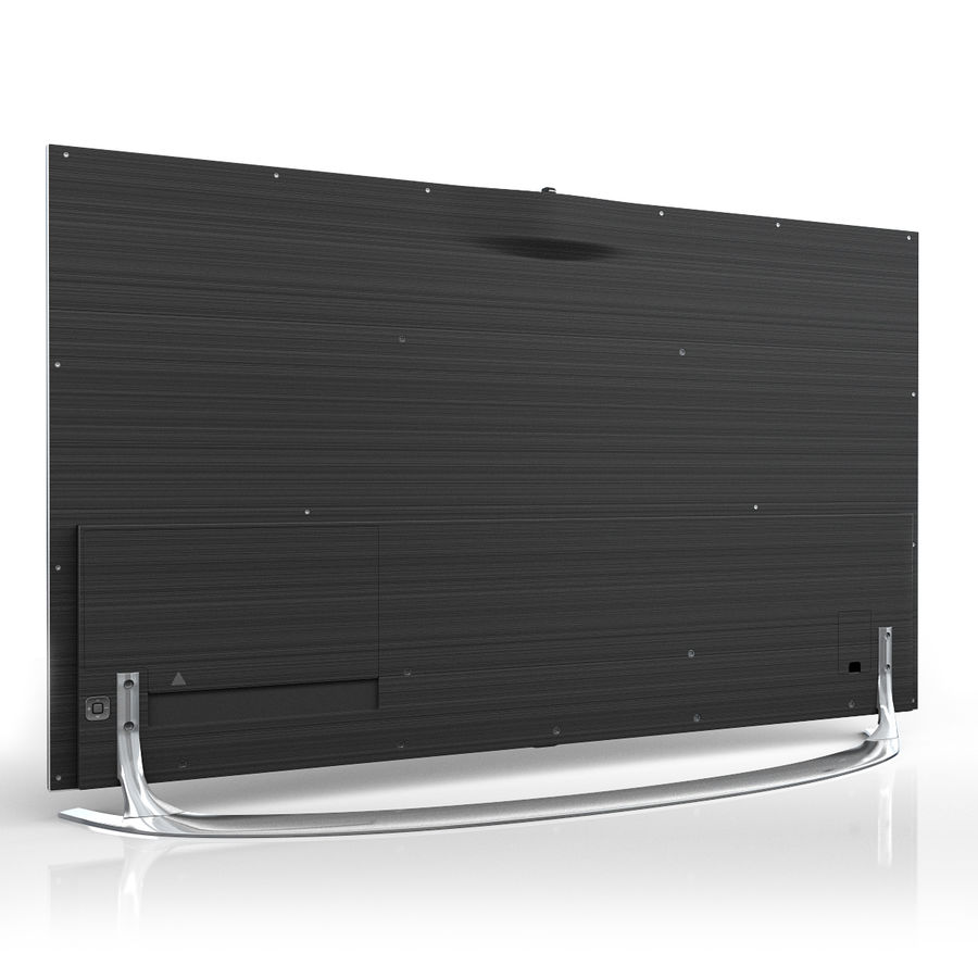Samsung 46 inch F8000 LED SMART FULL HD TV royalty-free 3d model - Preview no. 5