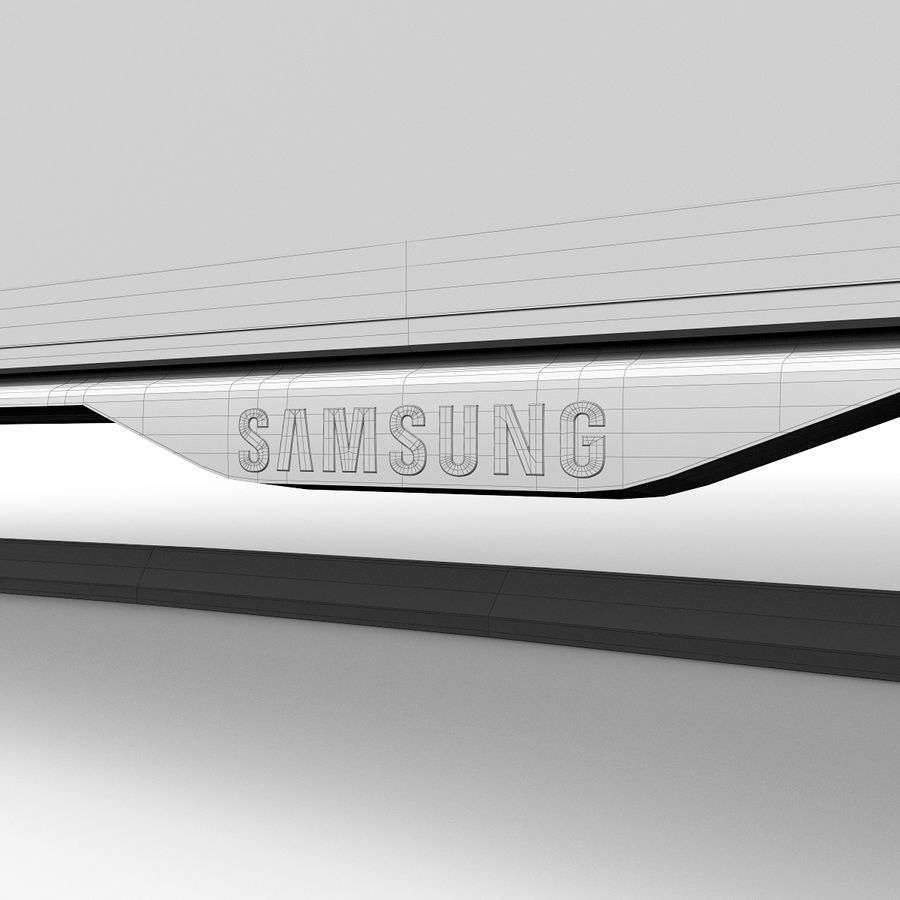 Samsung 46 inch F8000 LED SMART FULL HD TV royalty-free 3d model - Preview no. 17