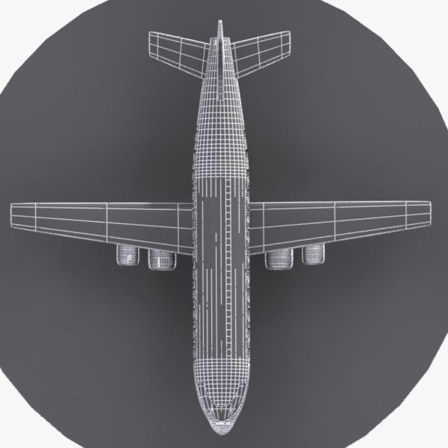 漫画の航空機 royalty-free 3d model - Preview no. 9