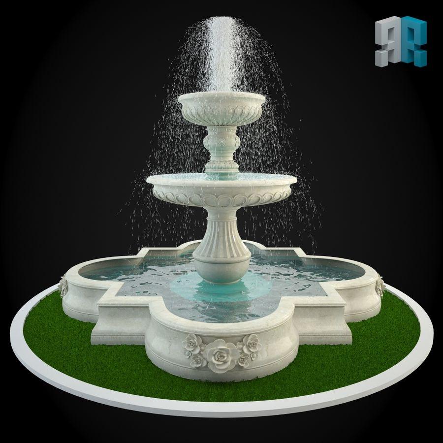 Fountain 012 3D Model 12 Oth Obj Fbx Max Free3D