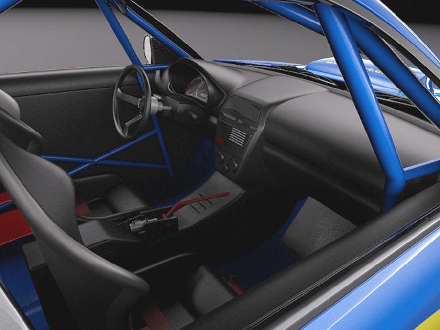 Subaru Impreza STi WRC 2004 royalty-free 3d model - Preview no. 9