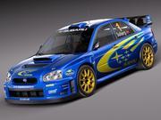スバルインプレッサSTi WRC 2004 3d model