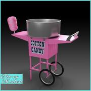 Cotton Candy Machine 3d model