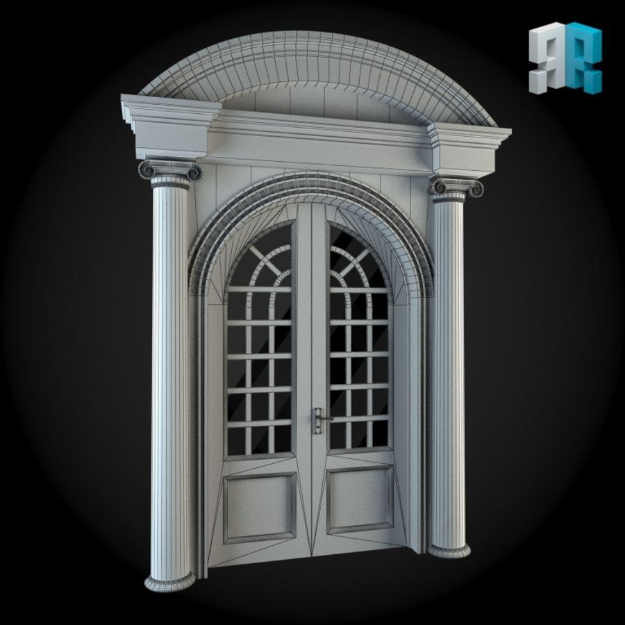 Door 044 royalty-free 3d model - Preview no. 2
