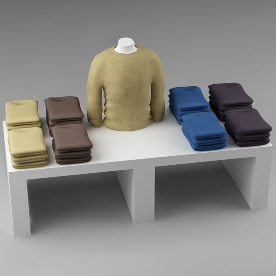 clothes_10 royalty-free 3d model - Preview no. 2