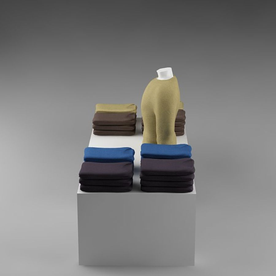clothes_10 royalty-free 3d model - Preview no. 8