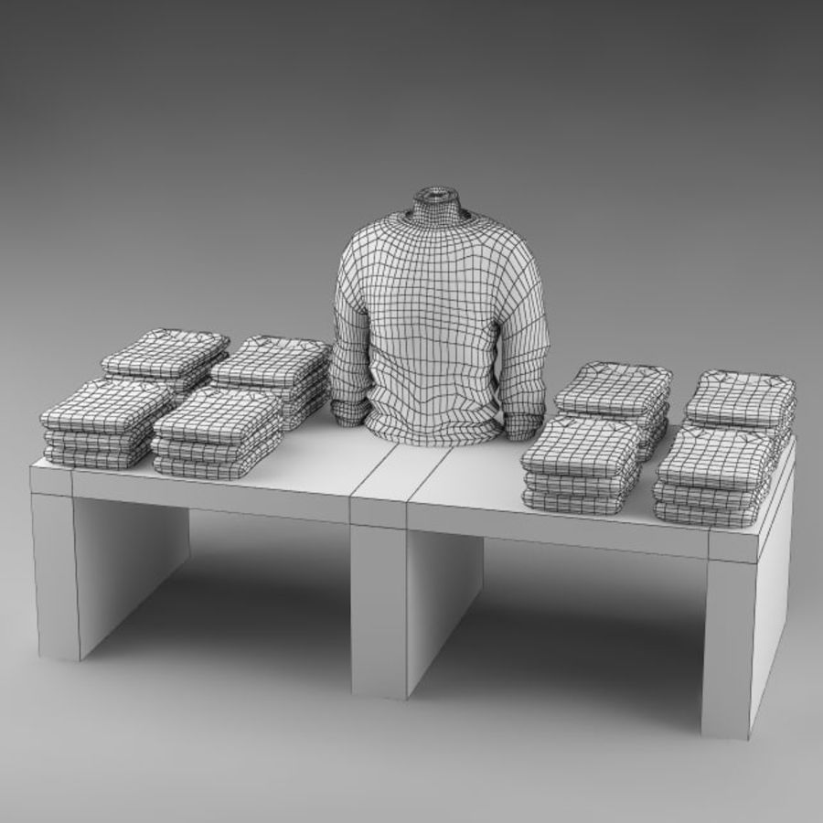 clothes_10 royalty-free 3d model - Preview no. 10