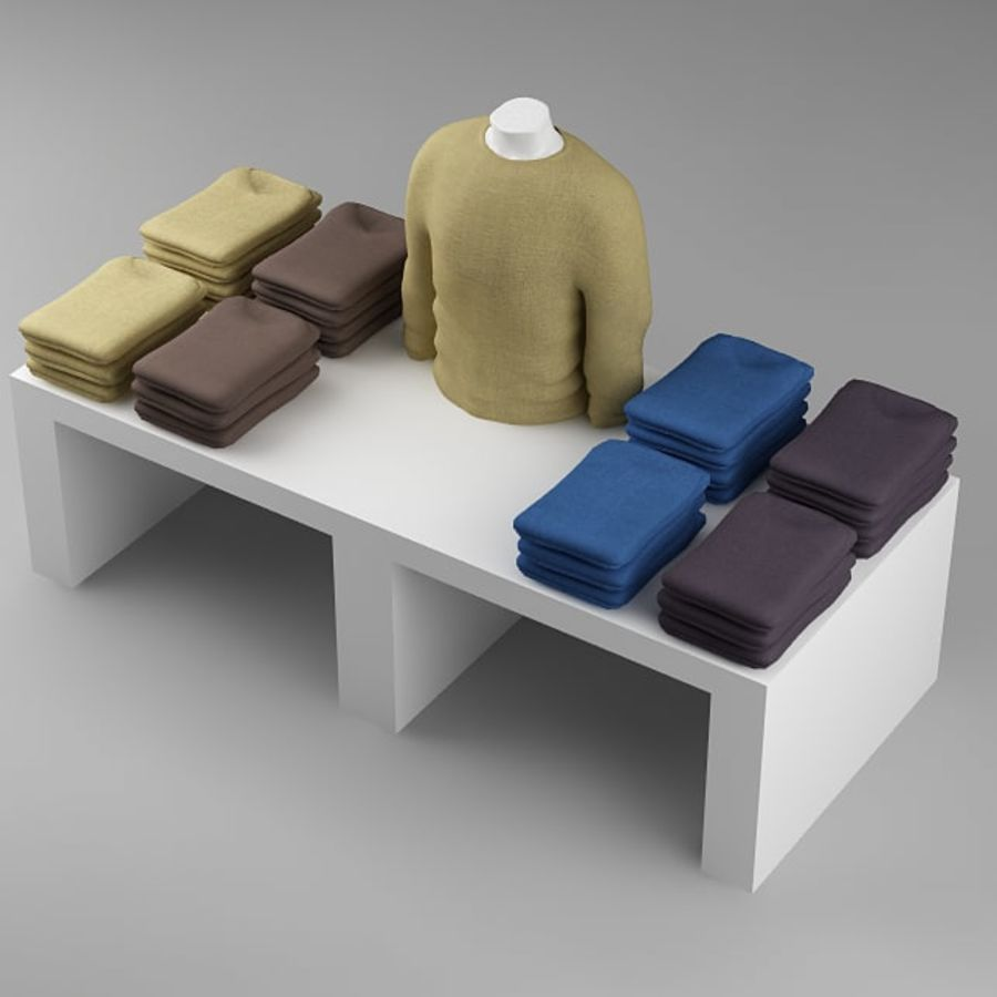 clothes_10 royalty-free 3d model - Preview no. 4