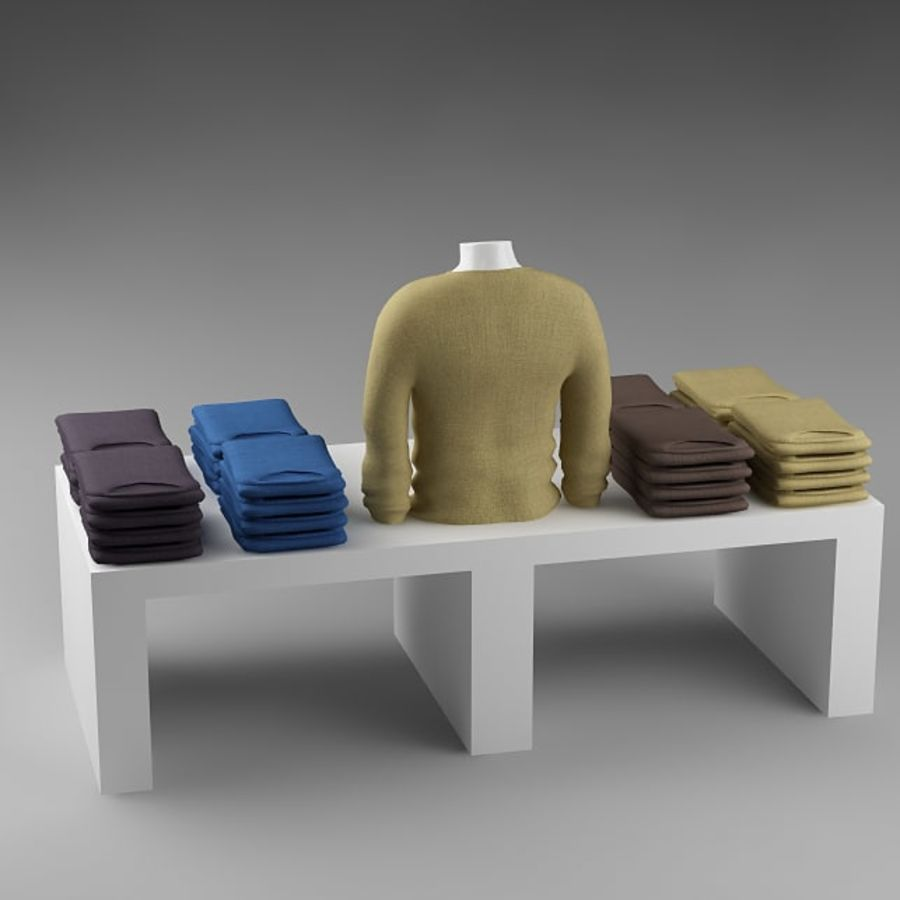 clothes_10 royalty-free 3d model - Preview no. 9