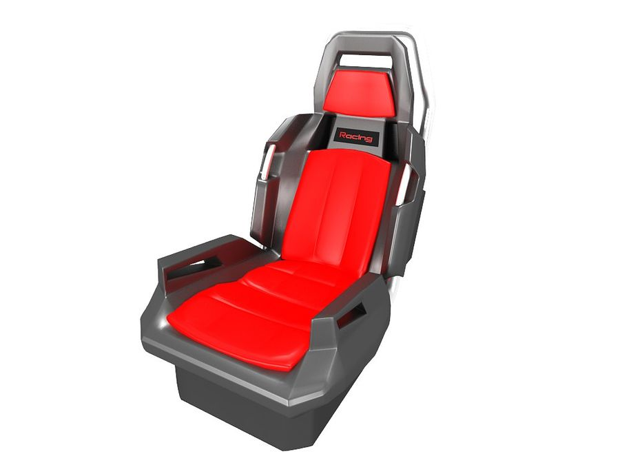 Concept Seat royalty-free 3d model - Preview no. 3