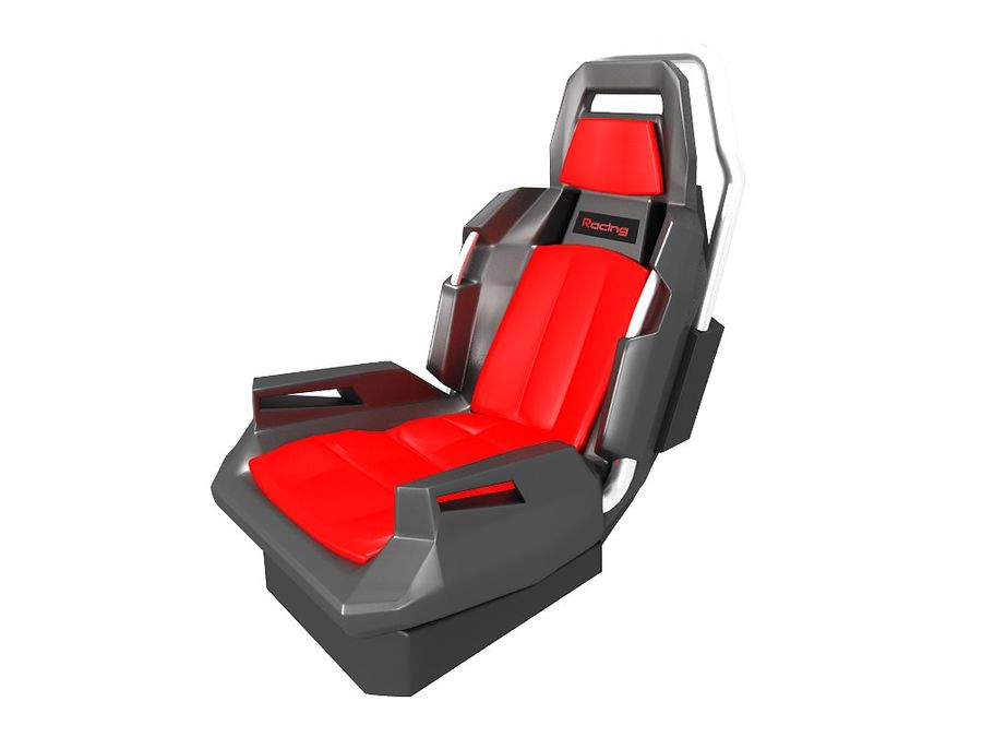 Concept Seat royalty-free 3d model - Preview no. 1