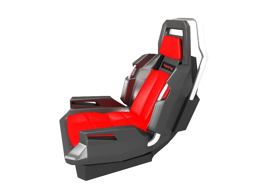 Concept Seat royalty-free 3d model - Preview no. 4