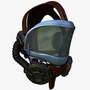 头盔飞行员 3d model