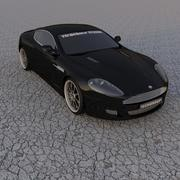 Aston Martin DBR Tuned 3d model