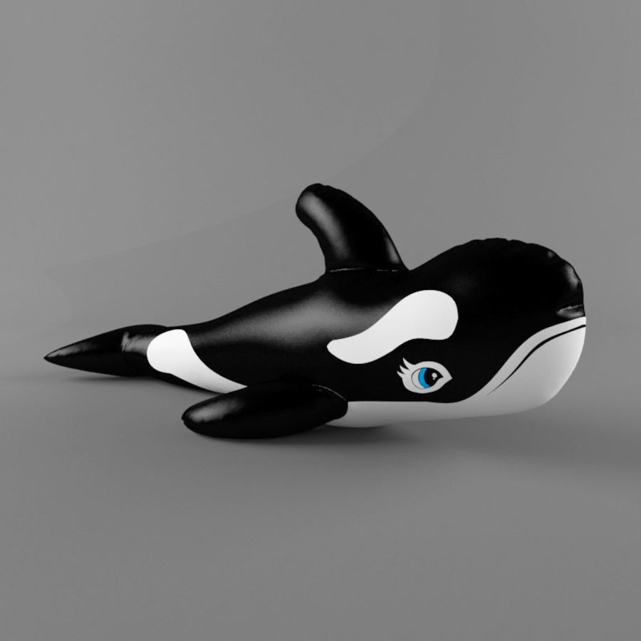 killer whale royalty-free 3d model - Preview no. 1