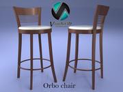 Orbo barkruk stoel 3d model