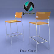 Fresh Bar Stool Chair 3d model