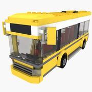 LEGO Buses 7641 3d model