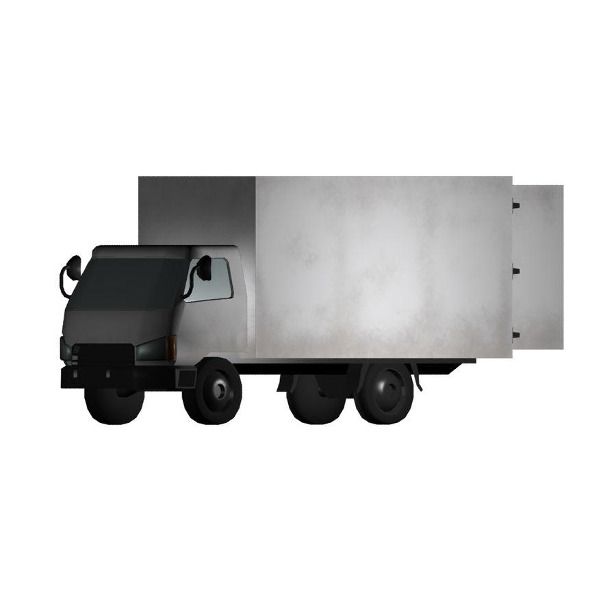 un camion royalty-free 3d model - Preview no. 1