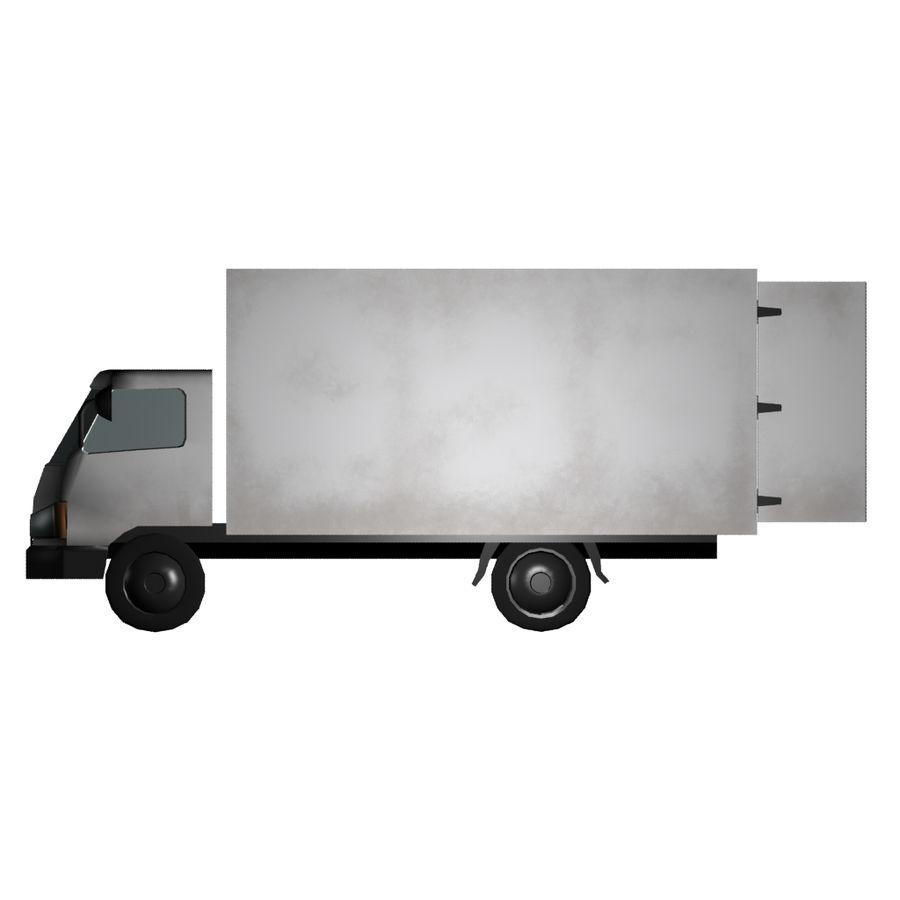 un camion royalty-free 3d model - Preview no. 4