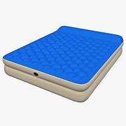 Виниловая надувная кровать Queen 3d model